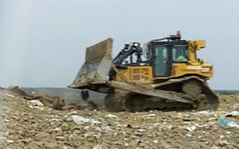 PHOTO: Bridgeton landfill's underground fire is drawing fire over odors and safety concerns. Photo courtesy: Missouri DNR