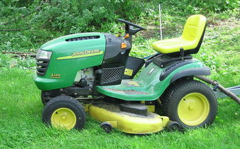 According to the American Academy of Pediatrics, more than 9,000 children a year are treated in emergency rooms for lawn mower injuries, most of which occur in their own backyard.