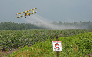 PHOTO: A Minnesota mom is among the petitioners in a lawsuit filed against the Environmental Protection Agency. The suit seeks to force the EPA to reevaluate the potential harms of pesticide drift exposure and then take action accordingly. CREDIT: Magarell