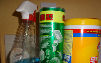 PHOTO: The products and items that households we use every day have a mysterious side when it comes to exactly what chemicals are in them. Montana Sen. Baucus sits on a Senate committee pondering what to do about regulation and testing. Photo credit: Deborah C. Smith