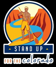 IMAGE: Outdoor Retailer Summer Market attendees are being urged to try a stand-up paddleboard � and to