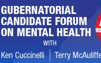 GRAPHIC: The candidates will appear separately at a forum on mental health tonight.
