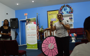 PHOTO: The Hispanic Access Foundation is holding workshops in New York to educate about prevention and early detection of breast cancer. The CDC reports that breast cancer is a leading cause of death for Hispanic women in the U.S. Photo courtesy of HAF