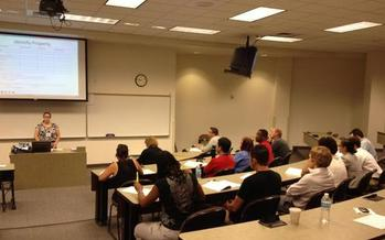 Photo: Nevadans at Free Community Law Day Class at Boyd School of Law at UNLV. Credit: Etkins