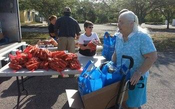 Photo: Thousands of Floridians count on Florida Foodbanks. Courtesy: Florida Association of Food Banks.