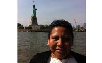 Leticia Reta is an undocumented immigrant living in Little Rock. She says for many years she was married to a man who beat her, but was afraid to leave because he threatened to have her deported. PHOTO courtesy of Reta.