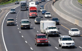 PHOTO: A new study shows Virginians have cut their per-person driving miles about six percent since 2005. Photo credit: Virginia DOT