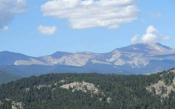 Photo: View from the planned hike for Hike to HEAL on September 21st in Evergreen. Courtesy: Hike to HEAL