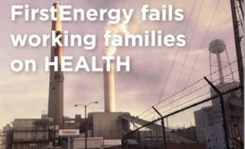 IMAGE: The Ohio Sierra Club has launched an aggressive grassroots campaign, claiming that FirstEnergy is attacking the state�s energy efficiency and clean energy standards. Courtesy Ohio Sierra Club.