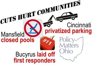IMAGE: Many communities in Ohio are struggling due to declines in state support. Credit: Policy Matters Ohio.
