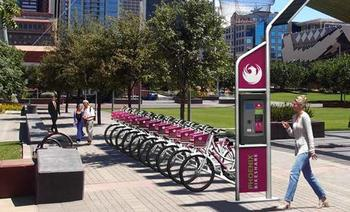 PHOTO: Phoenix launches a bikesharing program in December, where bicycles can be accessed by the minute or by subscription. CREDIT: Stacey Champion/Strategies360