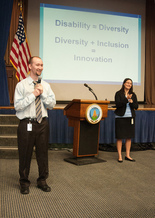 PHOTO: Only 22% of Iowans with disabilities currently have full-time employment. A forum to help change that is Oct. 17 in Ankeny. Photo credit: USDA