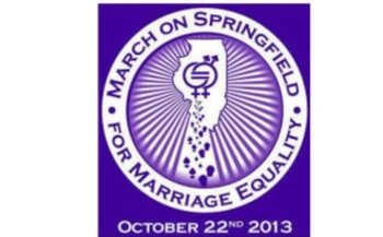 IMAGE:Leaders from labor, immigration, faith, women's health, business, sports and voting-rights movements will join LGBT families, leaders and allies at an equal-marriage rally today at the state Capitol. Image: march logo.