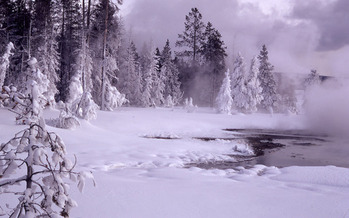PHOTO: The National Park Service has released its final winter regulations for Yellowstone National Park. It took 15 years to craft the rules. Photo of Upper Geyser Basin courtesy of NPS.