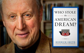 Photo: Pulitzer Prize-winning author Hedrick Smith will be in the Granite State today (Thursday) talking about