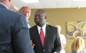 Photo: Elizabeth City State University student Montravias King now serves on City Council. Courtesy: SCSJ
