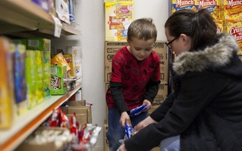 PHOTO: The 1.9 million Ohioans who receive federal food assistance will see their benefits decrease Friday. Many will turn to food pantries to fill the void. Courtesy: OAFB.