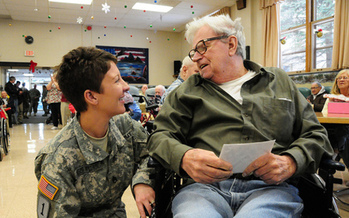 PHOTO: People across the state are honoring the 60,000 veterans who call North Dakota home. Courtesy U.S. Army