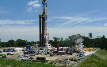 PHOTO: Carroll County, just southwest of Canton, is at the center of Ohio�s shale gas boom. Researchers at the University of Cincinnati are examining methane and other components in groundwater wells that could be linked to the process. Photo courtesy of Paul Feezel.