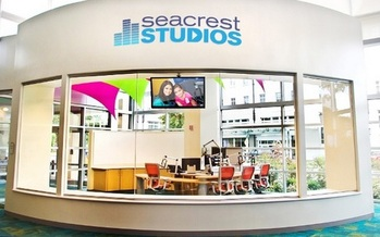 PHOTO:The Ryan Seacrest Foundation is opening a broadcast studio inside Cincinnati Children�s Hospital Medical Center that will allow young patients and their families the chance to express their creativity. Photo of Seacrest Studios. Courtesy of Ryan Seacrest Foundation.
