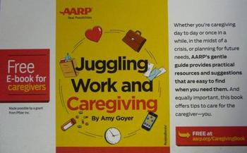 PHOTO: AARP Missouri wants to connect caregivers with resources, such as this free e-book, that can help them cope with the myriad challenges they face and demands on their time. Photo courtesy of AARP Missouri.