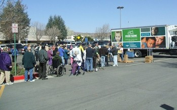 PHOTO: The Food Bank of Northern Nevada is helping to feed hundreds of families this Thanksgiving. Photo credit: Food Bank of Northern Nevada.