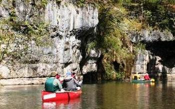 PHOTO: Visitors flock to the Ozark National Scenic Riverways to take in the beauty and enjoy water sports, and now Missourians can have a hand in shaping the future of the area. Photo courtesy  Sierra Club Missouri Chapter.