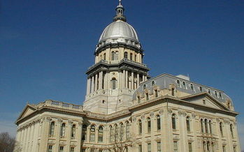 PHOTO: A vote on pension reform in Illinois is expected today in Springfield. Photo courtesy of the National Register of Historic Places.