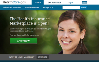 Photo: Health insurance plans are available for North Carolinians at Healthcare.gov. Courtesy: HealthCare.gov