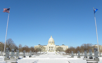 PHOTO: A new budget forecast has Minnesota looking at a $1.08-billion surplus for this two-year-budget cycle. Photo credit: Fibonacci Blue