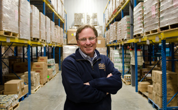PHOTO: Dan Stein of Second Harvest Food Bank says there is more hunger in Wisconsin than most people realize.  (Photo used with permission.)