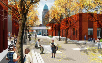 PHOTO: The East Baltimore Revitalization Project will soon mark a milestone as it opens a new school.