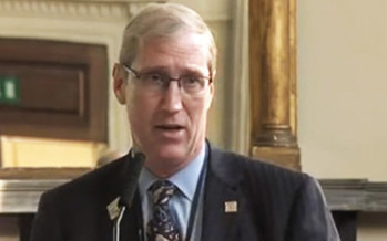 Dr. Byron Calhoun says abortions are sending West Virginia women to the emergency room weekly, but critics note he has not filed any complaints about the medical complications with regulators, something he would be legally required to do if his charges were true. PHOTO: SymMaternalHealth/Youtube.