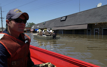 PHOTO: Long after the record flooding of 2008 and more in years to follow, communities in Iowa continue to work on creating riverbank redevelopment that's more resilient and sustainable. Photo couresty: Coast Guard News