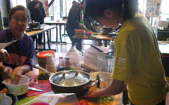 PHOTO: Math, science and health are all part of Yakima Valley after-school programs, some of which focus on teaching kids culinary skills. Photo courtesy 21st Century Afterschool Program.