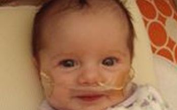 PHOTO: The parents of Chloe Manz hope the law that carries her name will help the hundreds of Missouri babies born each year with congenital heart defects to get the lifesaving treatments they need. Photo Courtesy of Pulse Ox Missouri.