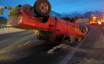PHOTO: The Utah Department of Transportation reports that not wearing a seatbelt remains the leading cause of death in traffic fatalities in the state. Photo courtesy UDOT.