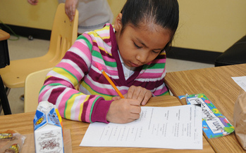 PHOTO: Maryland's school breakfast ranking in a scorecard released today from the Food Research and Action Center shows a lot to be proud of. More low-income students are participating in school breakfast programs, and the state is ranked 14th in the nation for its participation rate. Photo courtesy of USDA.