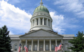 PHOTO: The day before Valentine's Day is Nonprofit Day at Maine's State House, aimed at warming the sometimes rocky relationship between lawmakers and nonprofit groups in the state. Photo credit: Wikimedia Commons