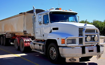 PHOTO: Trucks on Indiana roadways will face stricter fuel-efficiency standards under a new directive aimed at decreasing greenhouse gas emissions. Photo credit: morguefile.com.