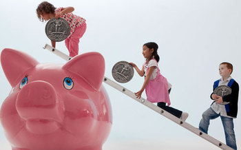 PHOTO: Nevadans are being asked to start saving money and plan for the future as part of