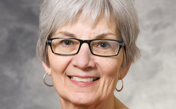 PHOTO: Gale Barber, assistant dean of the UW-Madison School of Nursing, says the Nurses For Wisconsin Initiative will help quickly develop more critically-needed nursing educators. (Photo provided by UW-Madison)