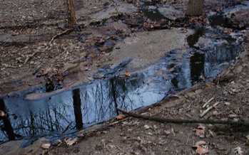 PHOTO: Environmental advocates say an oil spill this week in southwest Ohio is a reminder of the often unrecognized costs associated with oil and gas development. Photo credit: EPA.