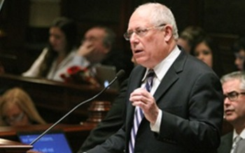 PHOTO: Illinois Governor Pat Quinn is calling on lawmakers to make the state's temporary income tax increase permanent. Photo courtesy Governor's office.