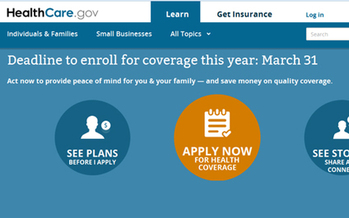 PHOTO: The first open enrollment period under Obamacare is coming to a close, with a deadline of March 31st for those who want coverage this year. Photo credit: John Michaelson