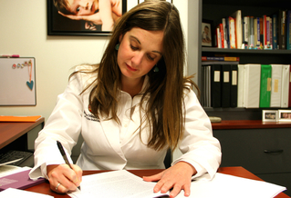 PHOTO: Ohio State University researcher Courtney D. Lynch says stress reduction techniques could be beneficial to women trying to conceive. Photo credit: Ohio State University.