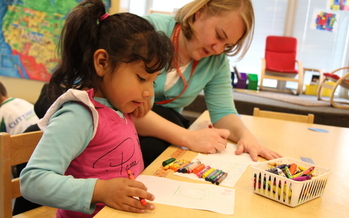 PHOTO: Clayton Early Learning Center in Denver says it works to incorporate parents into its support structure, which means being respectful of each family's culture. Photo courtesy: Colorado Children's Campaign.