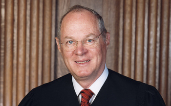 PHOTO: Swing vote Justice Anthony Kennedy swung in favor of