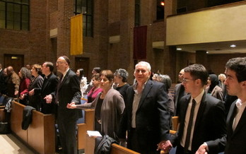 PHOTO: Participants at the NYS Interfaith Convocation for Immigration Reform started a week of activities that culminate with today's National Day of Action. Photo credit: C. Bonawandt, Long Island Wins