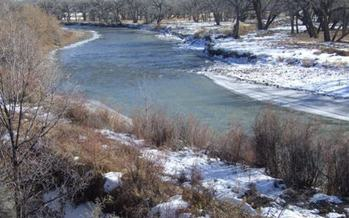 PHOTO: The San Juan Watershed Group reports that its testing shows traces of bacteria from human waste and unsafe levels of E.coli in the Animas and San Juan rivers in Northern New Mexico. Photo courtesy the U-S National Park Service.